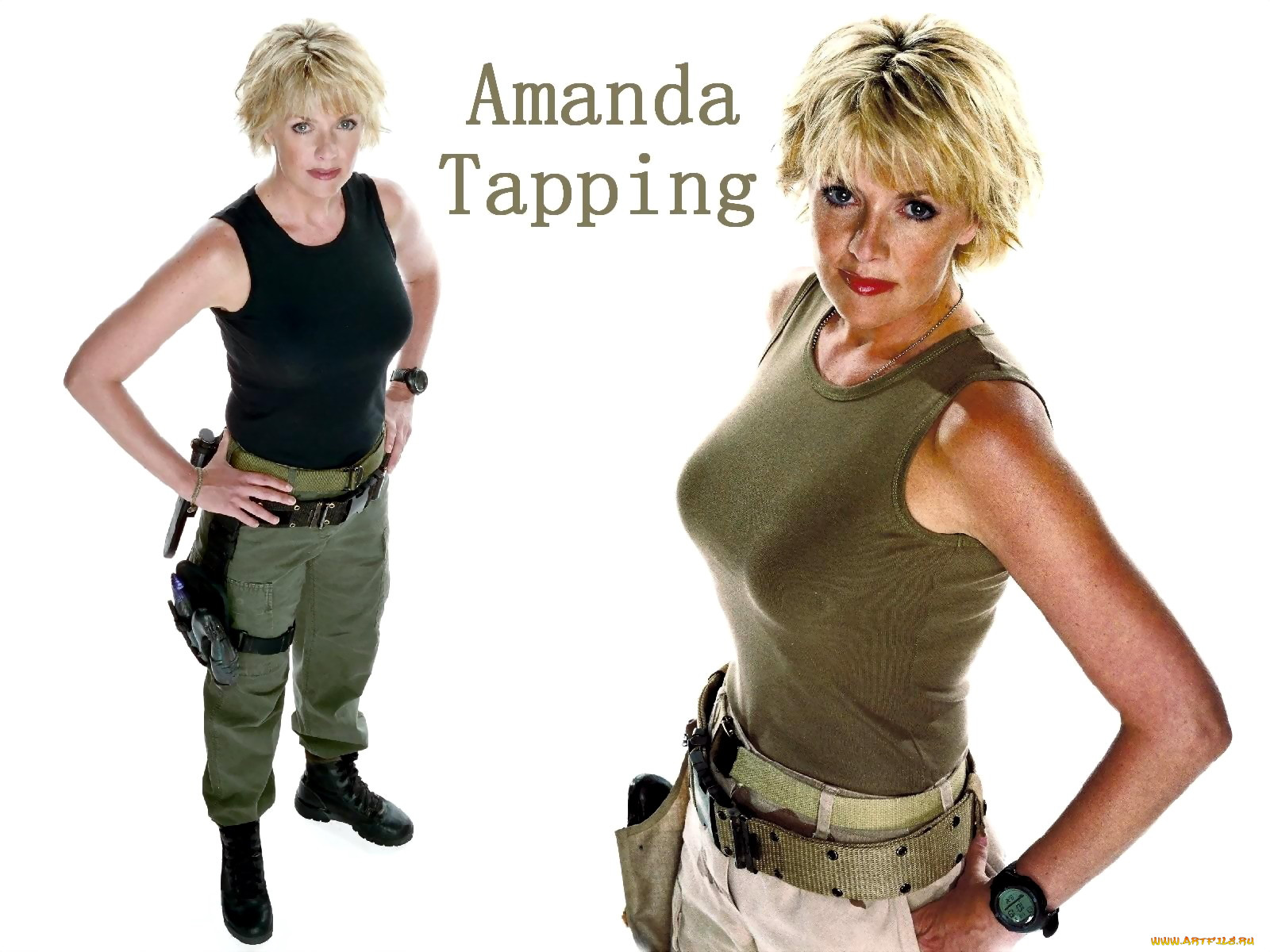 Amanda Tapping Fake